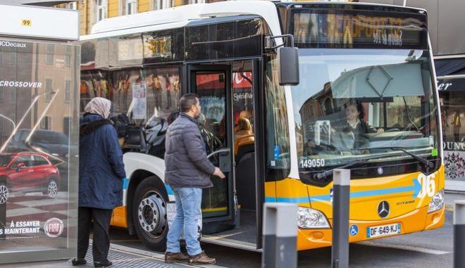 Λεωφορείο στη Γαλλία