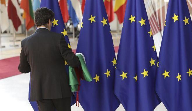 Φωτογραφία από τη Σύνοδο Κορυφής για το μεταναστευτικό, στις Βρυξέλλες