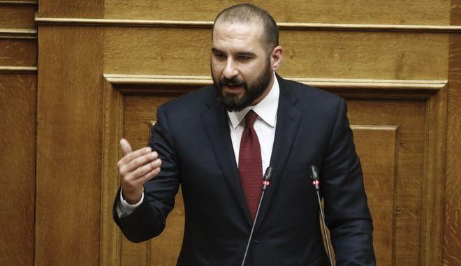 Συζήτηση στην Ολομέλεια της Βουλής για την πρόταση της ΝΔ για τη σύσταση προανακριτικής επιτροπής με αντικείμενο τη διερεύνηση ενδεχόμενων ποινικών ευθυνών των υπουργών Παναγιώτη Κουρουμπλή, Ανδρέα Ξανθού και Παύλου Πολάκη, κατά την τιμολόγηση φαρμάκων, την Πέμπτη 8 Μαρτίου 2018. (EUROKINISSI/ΚΟΝΤΑΡΙΝΗΣ ΓΙΩΡΓΟΣ)