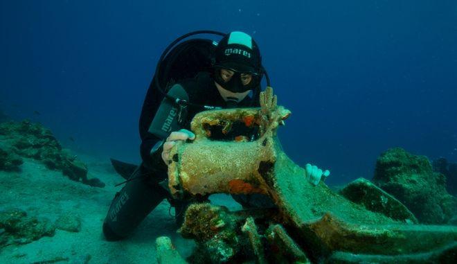 Αρχαιολογικά ευρήματα στη νήσο Λέβιθα