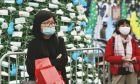 Άνθρωποι με μάσκες στο Βιετνάμ