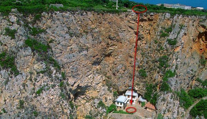 Τραγωδία στο Άγιο Όρος: Βούτηξε στον γκρεμό με την εικόνα της Παναγίας