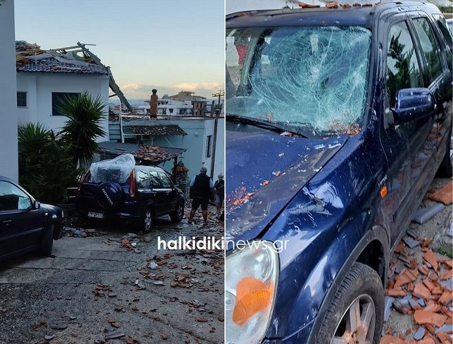 Κακοκαιρία: Καταστροφές στην Αττική - 3 τραυματίες στο Νέο Ηράκλειο
