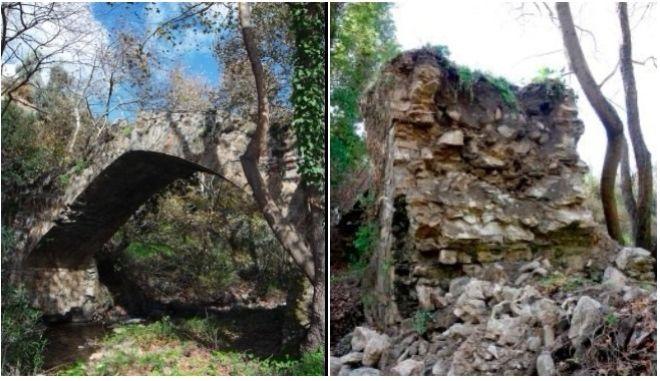 Κατέρρευσε ιστορική γέφυρα στην Κρήτη