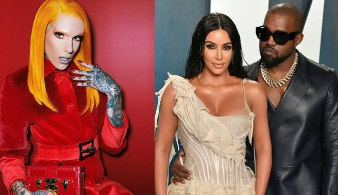 Jeffree Star, Kanye West, Kim Kardashian