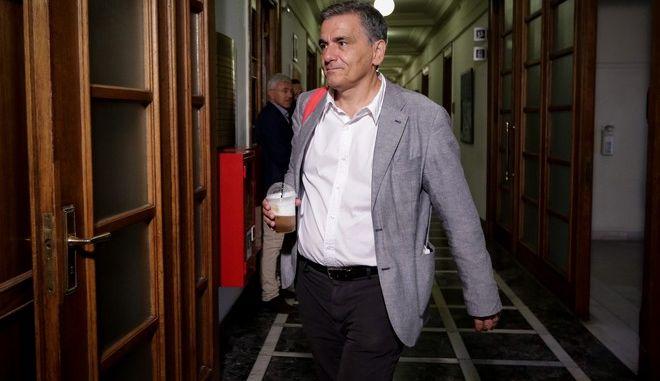 O Yπουργός Οικονομικών, Ευκλείδης Τσακαλώτος