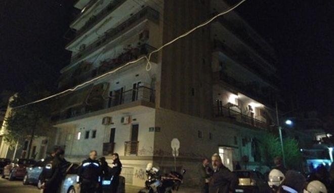 Στιγμιότυπο από το σημείο της τραγωδίας στην Πάτρα