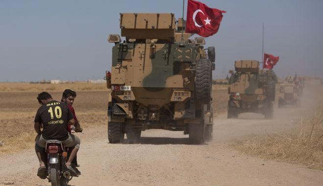Τουρκικά στρατεύματα μπήκαν στη Συρία