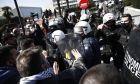 Ένταση μεταξύ φοιτητών και αστυνομίας στο Αριστοτέλειο Πανεπιστήμιο Θεσσαλονίκης