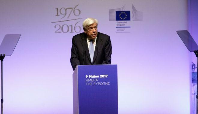 Παυλόπουλος: Η Ευρώπη πρέπει να προχωρήσει στην ομοσπονδιακή ενοποίηση