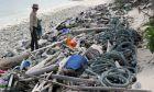 Πλαστικά στα νησιά Κόκος