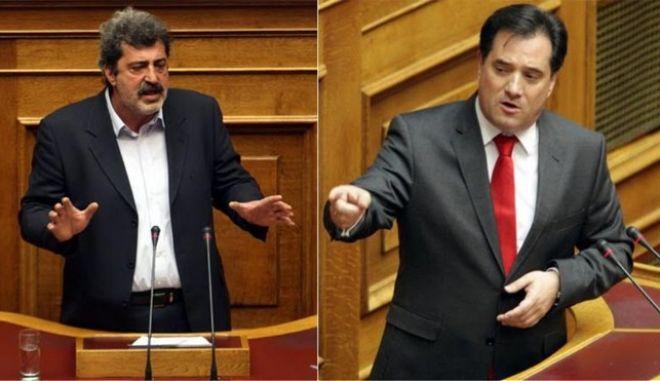 """Άγρια κόντρα Πολάκη - Γεωργιάδη για """"εξαγορές"""" βουλευτών και Χούντα"""