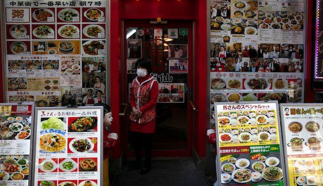 Κινέζικο εστιατόριο στη Γιοκοχάμα, κοντά στο Τόκιο.