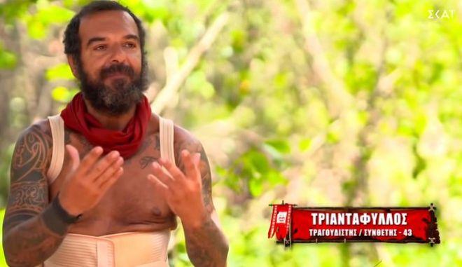 Μετά από πέντε και πλέον μήνες, ο Τριαντάφυλλος Χατζηνικολάου αποτελεί παρελθόν από το Survivor