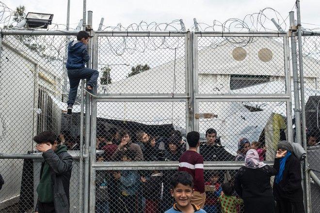 Μέσα στον καταυλισμό της Μόριας: 'Καλώς ήρθατε στη φυλακή'