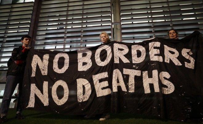 Διαμαρτυρία για τα 39 θύματα του Έσσεξ