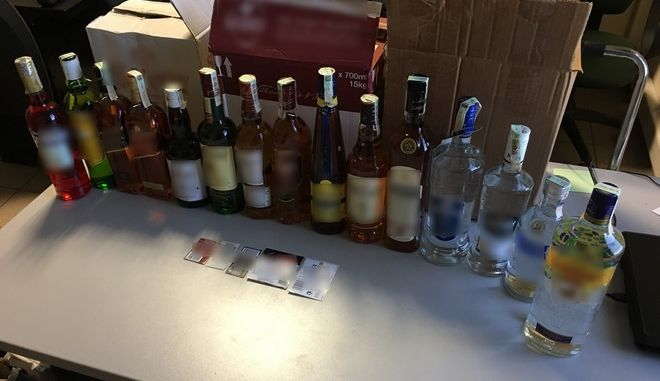 Συλλήψεις για ποτά - 'μπόμπες' και λαθραία ποτά από την Βουλγαρία στην Ελλάδα