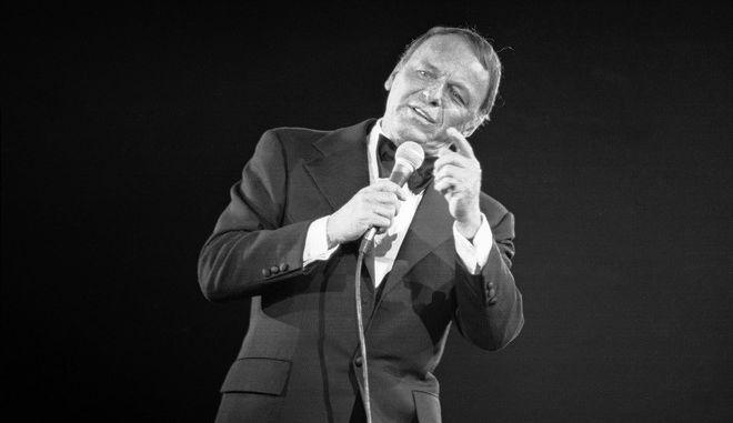 Ο Φρανκ Σινάτρα επί σκηνής, Απρίλιος 1974