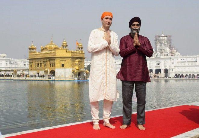 Ο Justin Trudeau έχασε τη διπλωματία της μόδας
