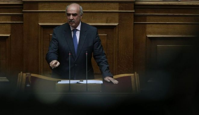 Discussion and voting at the parliamentary plenum about the negotiation and agreement with the European Stability Mechanism (ESM), at the Greek Parliament, in Athens, Greece on July 15, 2015. /                    , ,   15  2015.