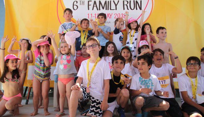 6ο Family Run: O Οικογενειακός Αγώνας-Θεσμός συνεχίζεται
