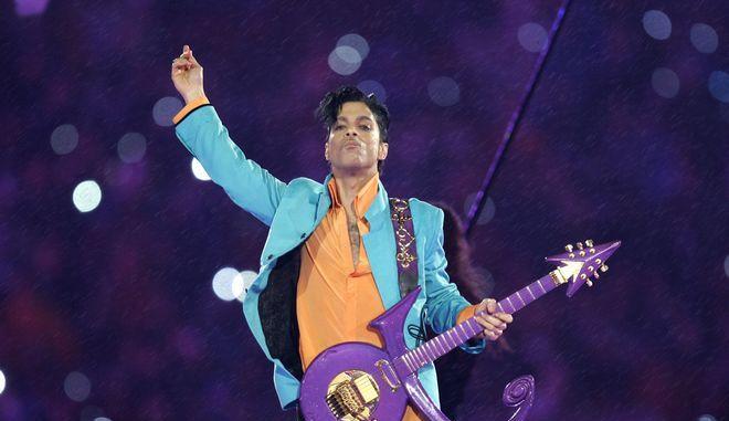 Ο Prince σε εμφάνιση στο Super Bowl τον Φεβρουάριο του 2007