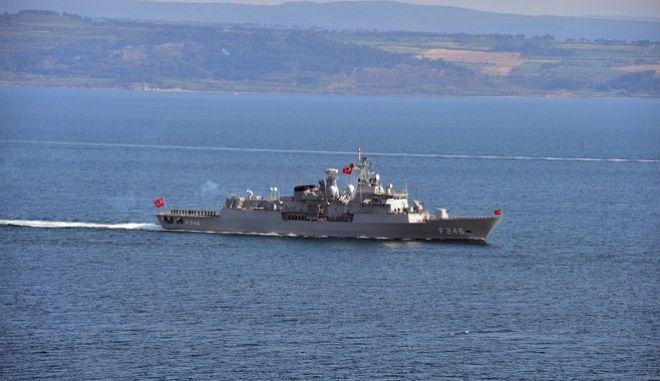 Τουρκικά πλοία έφτασαν μια ανάσα από τις ακτές του Αγαθονησίου