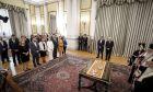 Ορκωμοσία της νέας κυβέρνησης στο Προεδρικό Μέγαρο την Τετάρτη 29 Αυγούστου 2018. (EUROKINISSI/ΓΙΩΡΓΟΣ ΚΟΝΤΑΡΙΝΗΣ)