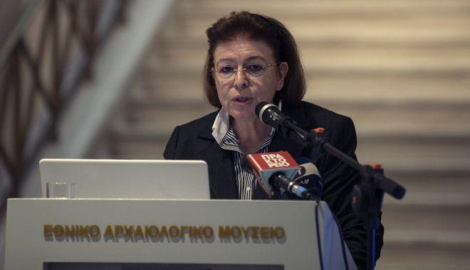 Λίνα Μενδώνη - Υπουργός Πολιτισμού
