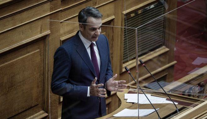 """""""Ώρα του Πρωθυπουργού"""" στη Βουλή την Παρασκευή 3 Ιουλίου 2020"""