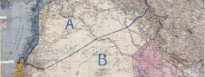 Ο χάρτης του 1916 για τη Συρία που καλείται να αποδεχτεί η Άγκυρα