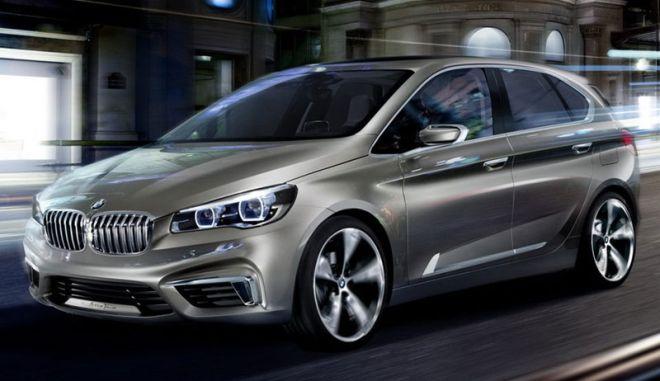 Active Tourer Concept. Η πρώτη BMW με κίνηση στους εμπρός τροχούς