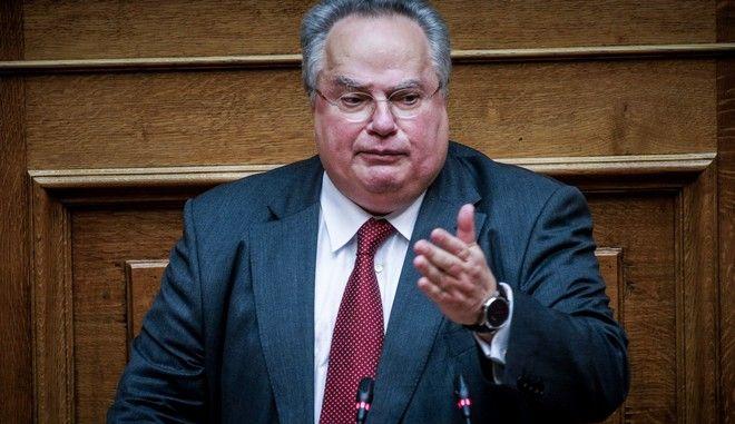 Ο πρώην υπουργός Εξωτερικών Νίκος Κοτζιάς
