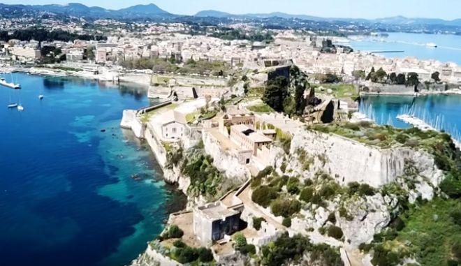 Η Πόλη της Κέρκυρας από ψηλά