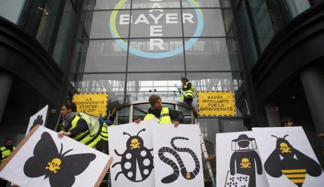 Από διαμαρτυρία εναντίον της Monsanto