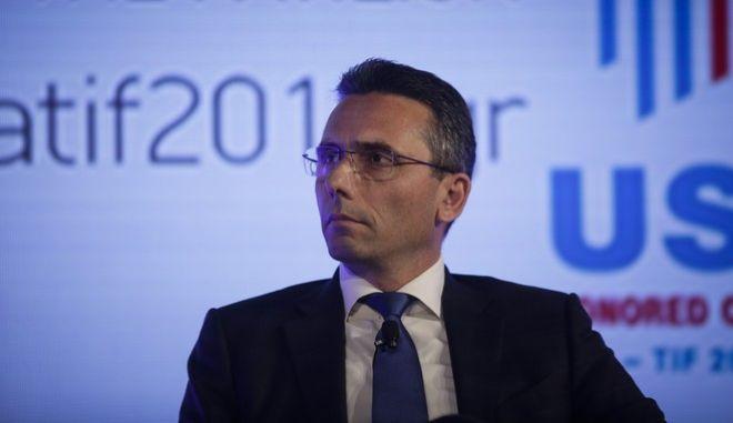 Φωτό αρχείου: Ο πρόεδρος και διευθύνων σύμβουλος της Παπαστράτος Χρ. Χαρπαντίδης