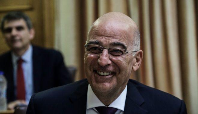 Ο Υπουργός Εξωτερικών Νίκος Δένδιας