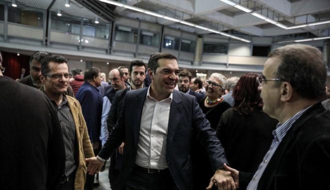 Συνεδρίαση της Κεντρικής Επιτροπής Ανασυγκρότησης του ΣΥΡΙΖΑ - Προοδευτική Συμμαχία στο Στάδιο Ειρήνης και Φιλίας το Σάββατο 30 Νοεμβρίου 2019.