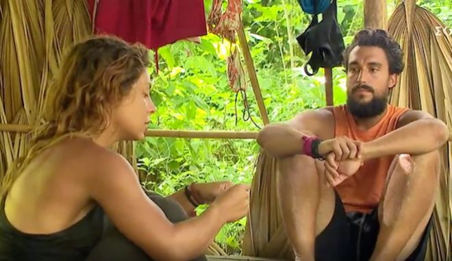 "Survivor: Η Μαριαλένα ""καρφώνει"" τον Κόρο στον Σάκη - ""Καρδούλα μου, στεναχωρήθηκα χθες"""