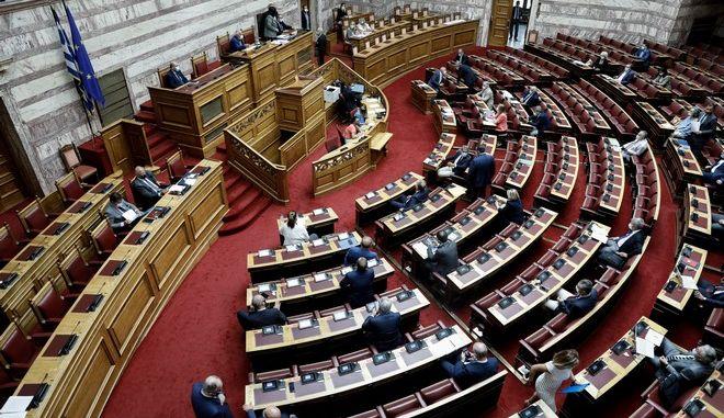 Κύρωση συμφωνίας μεταξύ Ελλάδας και Ιταλίας για οριοθέτηση των αντιστοίχων θαλασσιών ζωνών τους