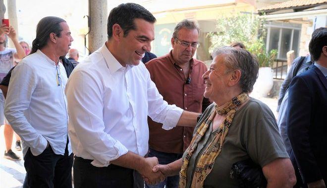 """Περιοδεία Τσίπρα στην Κρήτη: """"Να συγκροτήσουμε μια μεγάλη παράταξη της Αριστεράς"""""""