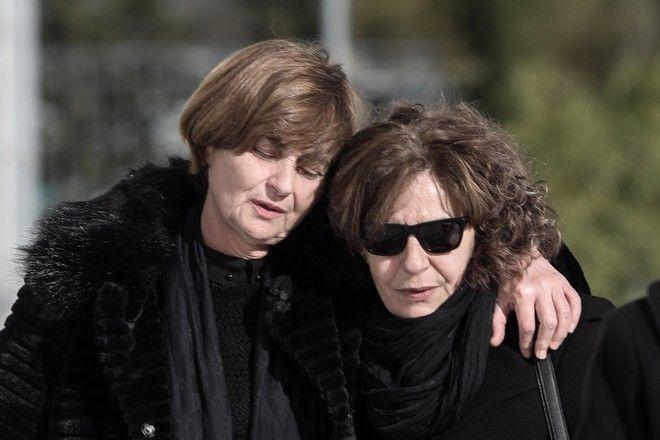 H Μάγδα Φύσσα με τη μητέρα της Ελένης Τοπαλούδη τον Ιανουάριο του 2020