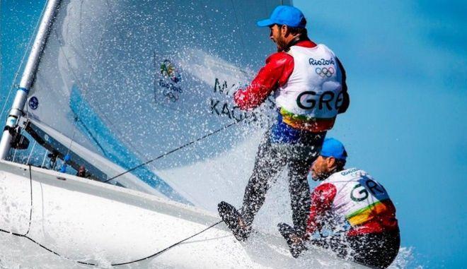Ρίο 2016: Εξασφάλισαν μετάλλιο οι Μάντης / Καγιαλής στα 470