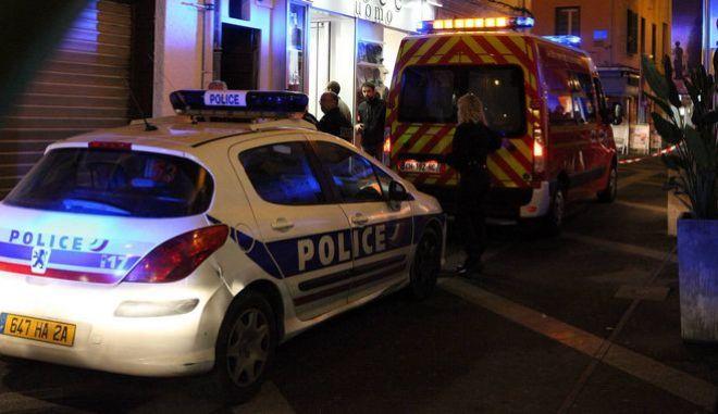 Αστυνομικές δυνάμεις και ασθενοφόρο σε περιστατικό στην Κορσική