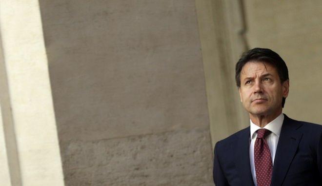 Ο Ιταλός πρωθυπουργός, Τζουζέπε Κόντε