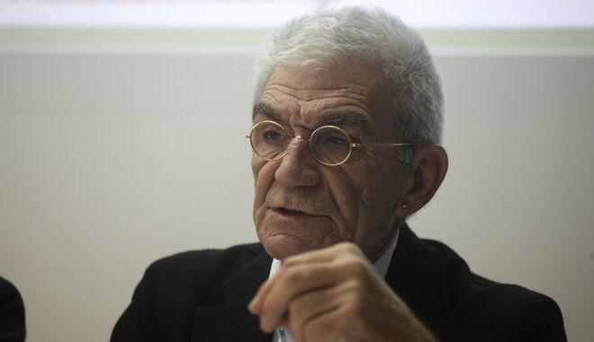 ΑΘΗΝΑ-Ο δήμαρχος Θεσσαλονίκης Γιάννης Μπουτάρης (φωτο) και ο δήμαρχος της Αθήνας Γ. Καμίνης έδωσαν σήμερα συνέντευξη Τύπου στην Αθήνα και παρουσίασαν το πρόγραμμα  Θεσσαλονίκη - Ευρωπαϊκή Πρωτεύουσα Νεολαίας 2014.(EUROKINISSI-ΑΛΕΞΑΝΔΡΟΣ ΖΩΝΤΑΝΟΣ)