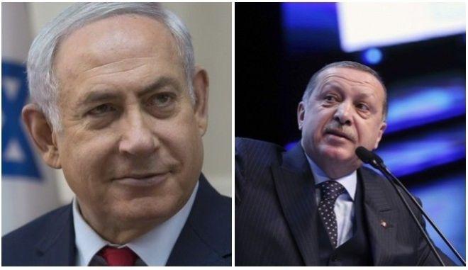 'Πόλεμος' Ισραήλ - Τουρκίας: Αλληλοκατηγορίες Νετανιάχου - Ερντογάν με φόντο την Ιερουσαλήμ