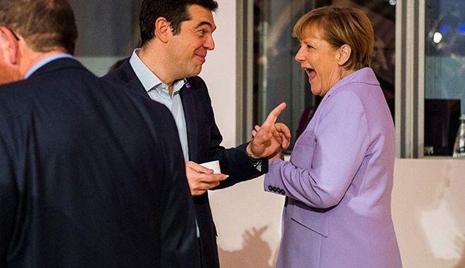 Αποτέλεσμα εικόνας για tsipras merkel