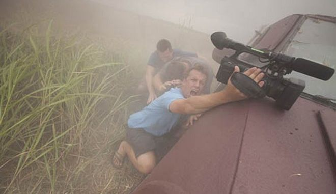 Storm Chasers - Reed Timmer, Chris Chittick, Joel Taylor Photo by: Discovery Channel