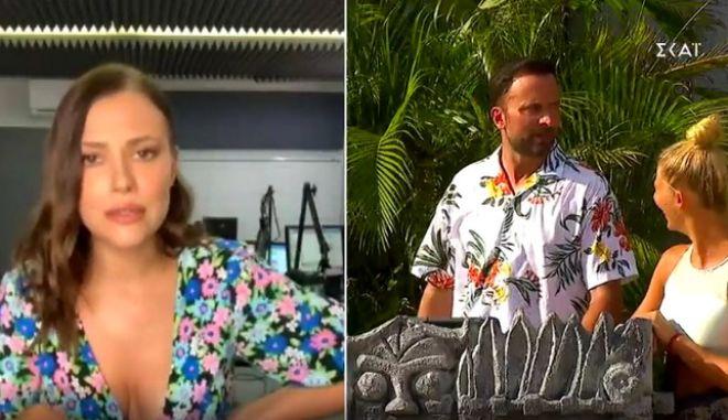 Παράπονα έκανε η Λάουρα Νάργες στον Γιώργο Λιανό, σε guest εμφάνισή της στο Survivor